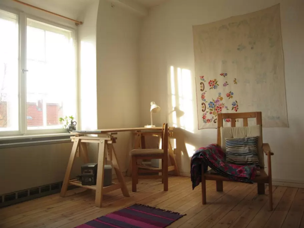 Our Airbnb apartment in Berlin